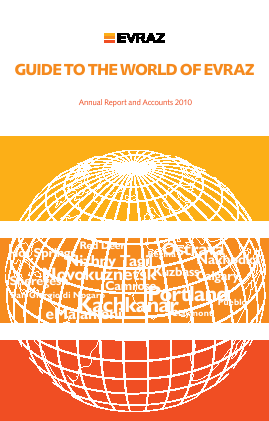 Evraz Plc annual report 2010