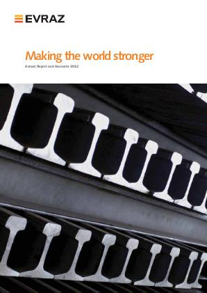 Evraz Plc annual report 2012