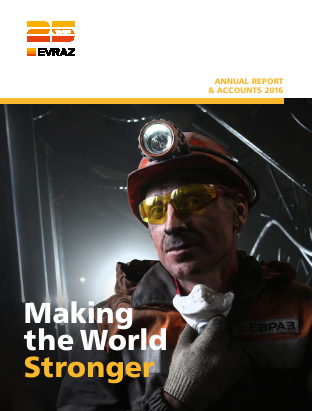 Evraz Plc annual report 2016
