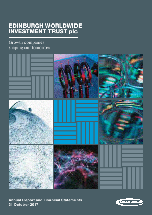 Edinburgh Worldwide Investment Trust annual report 2017