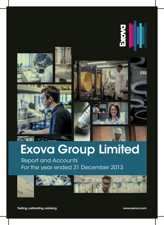 Exova Group Plc annual report 2013