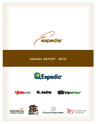 Expedia Inc. annual report 2010