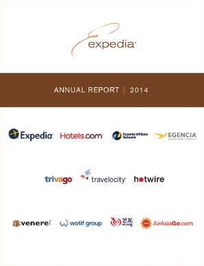 Expedia Inc. annual report 2014