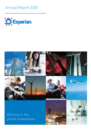 Experian Plc annual report 2009