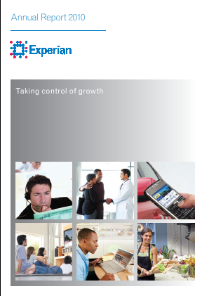 Experian Plc annual report 2010