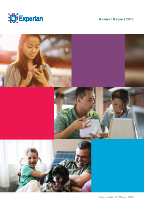 Experian Plc annual report 2015