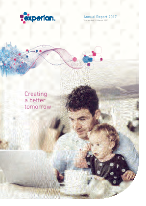 Experian Plc annual report 2017