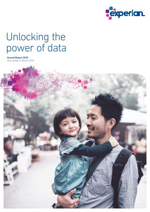 Experian Plc annual report 2018
