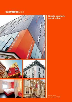 Easyhotel Plc annual report 2014