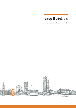Easyhotel Plc annual report 2016