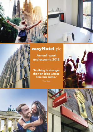 Easyhotel Plc annual report 2018