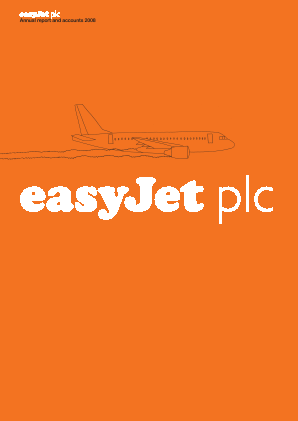 Easyjet annual report 2008