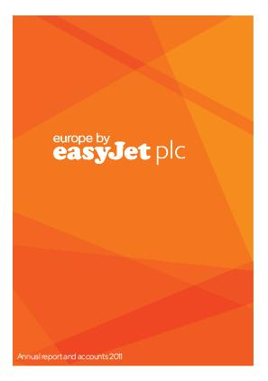 Easyjet annual report 2011