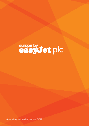Easyjet annual report 2012