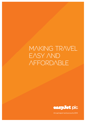 Easyjet annual report 2014