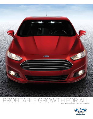 Ford Motor annual report 2011
