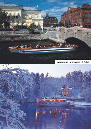 Fabege annual report 2000