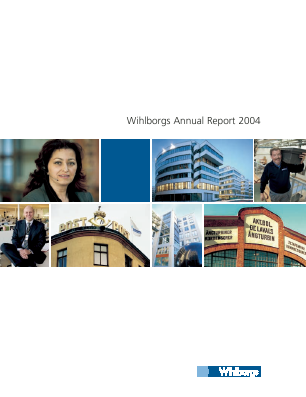 Fabege annual report 2004