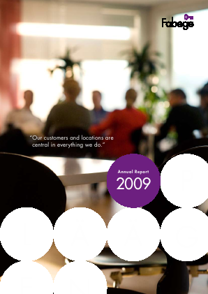 Fabege annual report 2009
