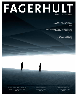 Fagerhult annual report 2014