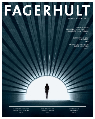 Fagerhult annual report 2015