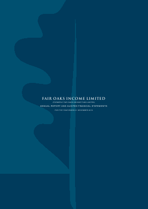 Fair Oaks Income Fund annual report 2016