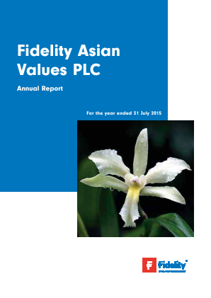 Fidelity Asian Values annual report 2015