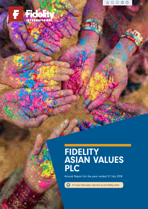 Fidelity Asian Values annual report 2018