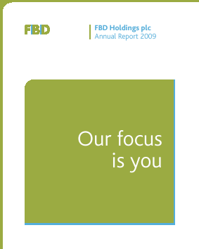 FBD Holdings annual report 2009