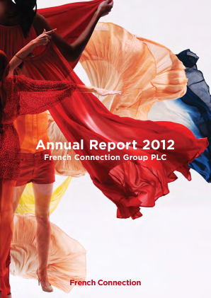 French Connection Group annual report 2012