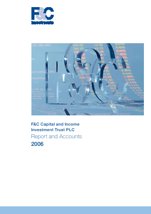 F&C Capital & Income Investment Trust annual report 2006