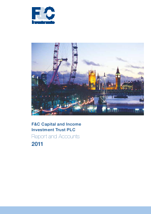 F&C Capital & Income Investment Trust annual report 2011