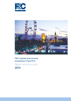 F&C Capital & Income Investment Trust annual report 2014