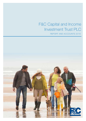 F&C Capital & Income Investment Trust annual report 2016