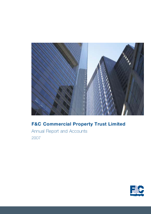 F&C Commercial Property Trust Limited annual report 2007