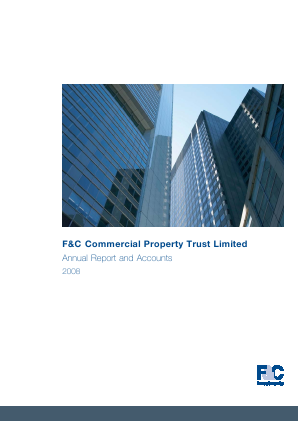 F&C Commercial Property Trust Limited annual report 2008