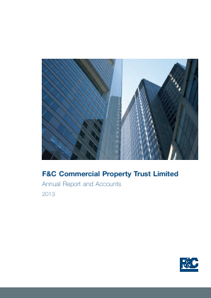 F&C Commercial Property Trust Limited annual report 2013
