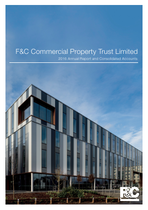 F&C Commercial Property Trust Limited annual report 2016