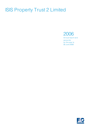 F&C UK Real Estate Investments annual report 2006