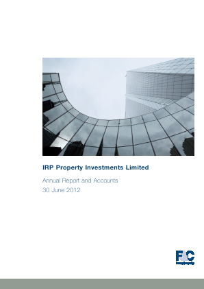 F&C UK Real Estate Investments annual report 2012