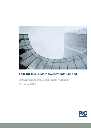 F&C UK Real Estate Investments annual report 2015