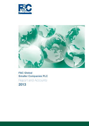 F&C Global Smaller Companies annual report 2013