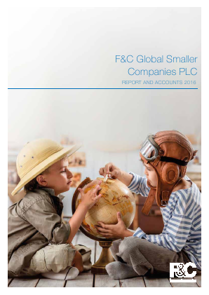 F&C Global Smaller Companies annual report 2016