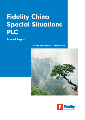 Fidelity China Special Situations annual report 2014