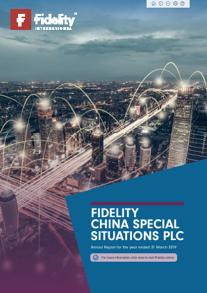 Fidelity China Special Situations annual report 2019