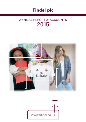 Findel annual report 2015