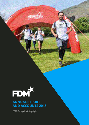 FDM Group Plc annual report 2018
