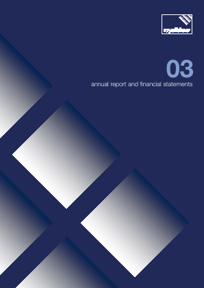 Fidessa Group Plc annual report 2003