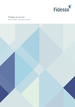 Fidessa Group Plc annual report 2007