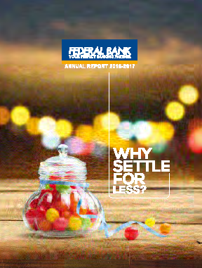 Federal Bank annual report 2017